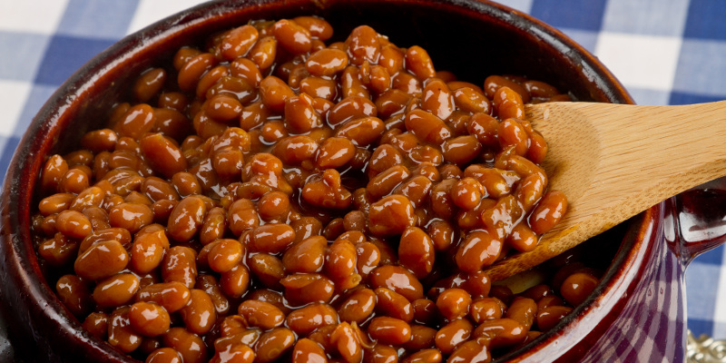 The Best Slow Cooked Cowboy Beans